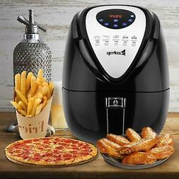 1500W Electric Air Fryer Low-Fat Touch Screen Control w/ 6 C