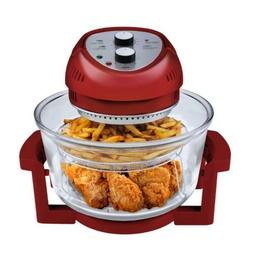 Big Boss Red 16 Quart Oil-less Air Fryer & Convection Oven