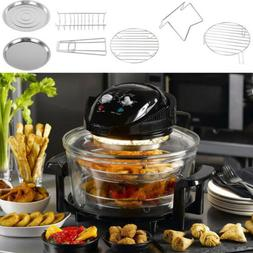 Large 17L Oil Free Low Fat Air Fryer Screen Healthy Frying O