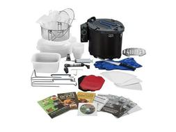 Ron Popeil 5 qt Turkey Fryer 5 in 1 Cooking System w/ Access