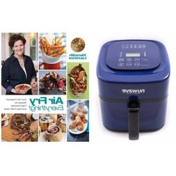 "Nuwave 6 qt Brio Air Fryer-Blue with"" Air Fry Everything"" Co"