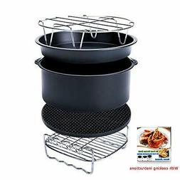 7 inch XL Air Fryer Accessories Set of 5 for Phillips Cozyna