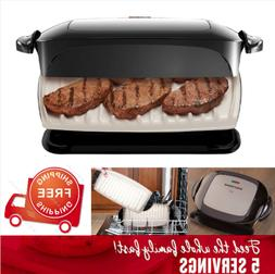 George Foreman 5-Serving Removable Plate Grill and Panini Pr