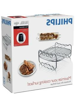 Philips - Viva Collection Airfryer Double Layer Rack With Sk