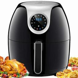 Tidylife 6.3 QT XL Air Fryer, 1700W 8 in 1 One-Touch Cooking