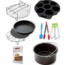 Air Fryer Accessories 9 Sets , For Phillips And Gowise Fit A