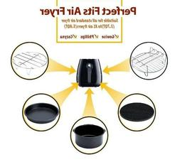 Air Fryer Accessories for GoWise/Phillips or ANY 3.7QT - 4.2
