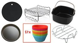 Air Fryer Accessories Compatible with Philips Avance/Viva,Co