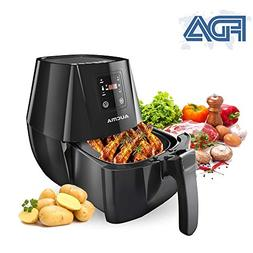 Air Fryer 4.3 Quarts/4L Hot Airfryer Cooker with Cookbook Di