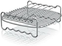 Philips Airfryer Double Layer Rack with Skewers- HD9905/00,