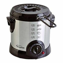 Brentwood DF-701 Electric, 1-Liter, Stainless Steel Deep Fry
