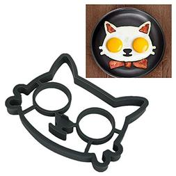 Egg Mold Kitchen Silicone Cat Egg Shaper Pulison Cat Fried E
