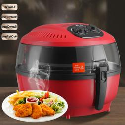 Electric No Oil Air Fryer Calorie Reducer Temperature Timer