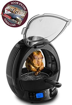Gourmia GMF2600-9 In 1 Air Fryer & Multicooker, Halogen Powe