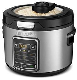Gourmia GRC970 11-in-1 Digital 20-Cup Rice Cooker   Clear Gl