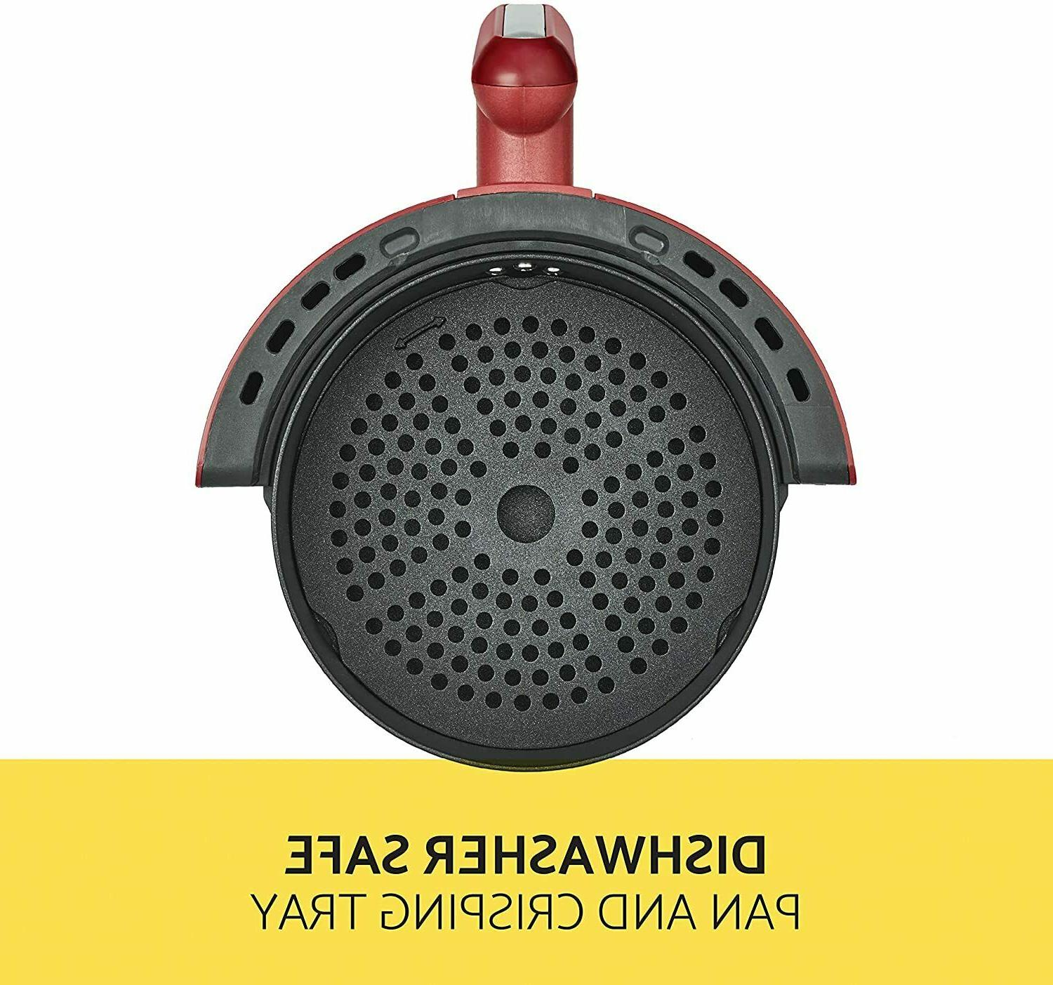 BELLA Convection AIR Fryer Red 14778--BRAND