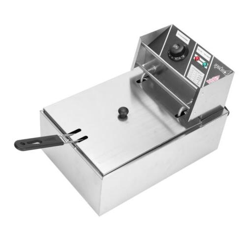 2500W Commercial Deep Fryer Stainless