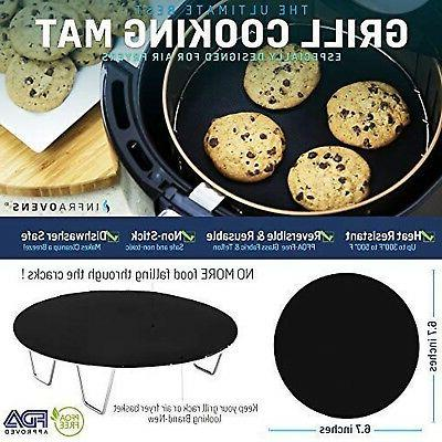 Air Fryer Grill Pan Tools for GoWise Secura Black +