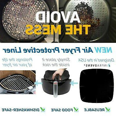 Air Fryer Rack Compatible with NuWave Zokop, Cozyna +More