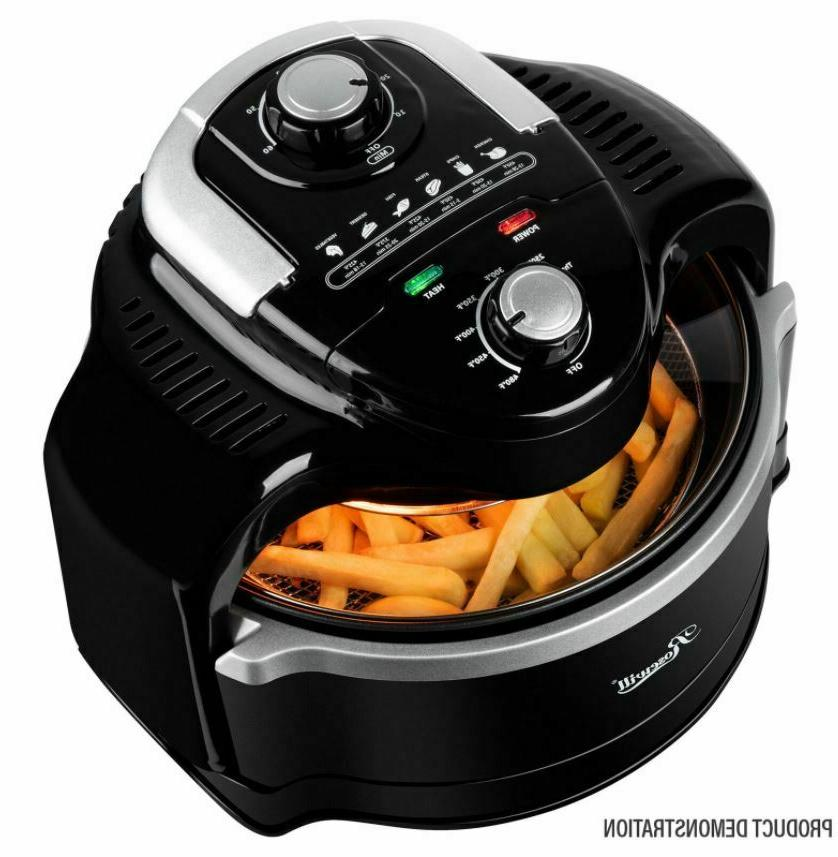 air fryer with accessories 7 4qt large