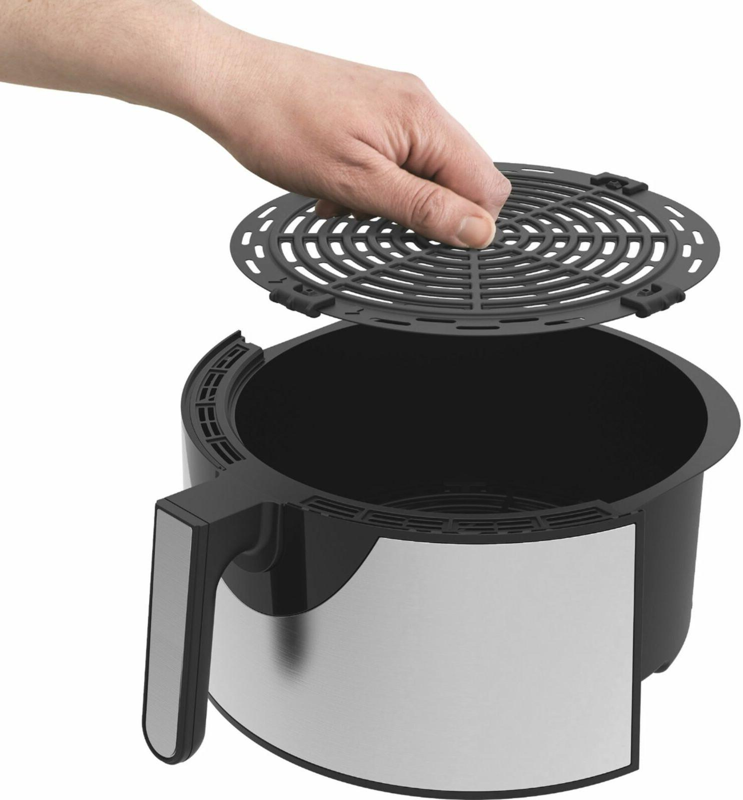 Brand Series 8qt Fryer Stainless Steel FREE