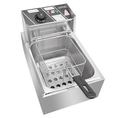 2500W 6.3QT/6L Stainless Electric Deep Home Commercial US