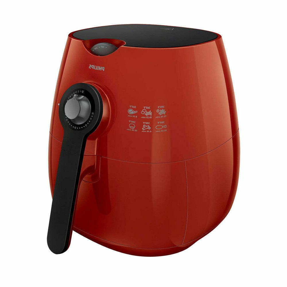 Philips with Rapid Air 75% Less Fat Red