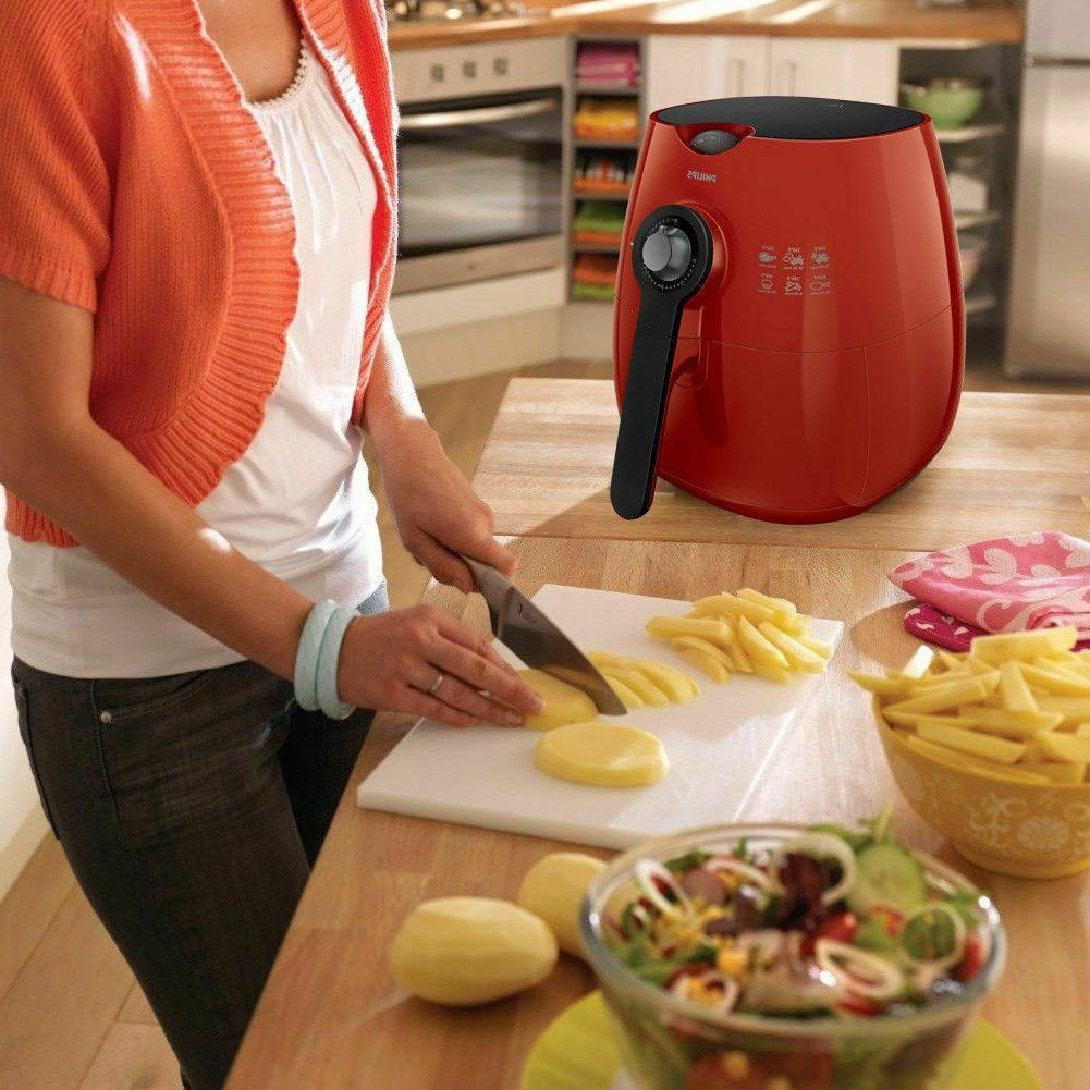 Philips The with Rapid Technology 75% Fat Red