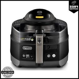 MultiFry FH1363 4.75 Qt. Black Electric Multi-Cooker and Air
