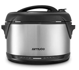 Gourmia GPS650 Multi-function Electric 1-Hour Hot & Cold Smo