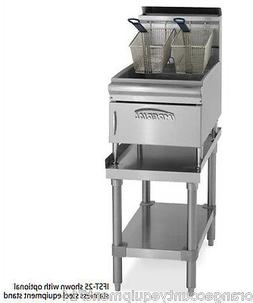 NEW 25 LB Gas Deep Fryer Counter Top Stainless Steel Imperia
