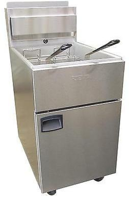 Anets SLG100 Silverline Gas Fryer 70 - 100lb Capacity 150000