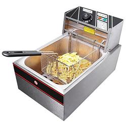 Stainless Steel Electric Countertop Fat Deep Fryer